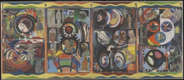 The Autobiography of an Embryo 1933-4 by Eileen Agar 1899-1991