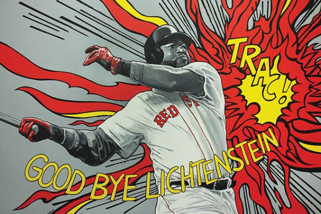 2016_Good bye Big Papi_acrilico s lienzo_36 x 48in copy