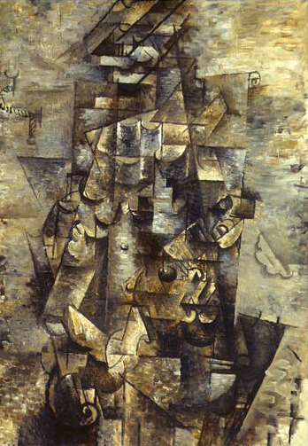 Georges Braque,Man with a Guitar, 1911