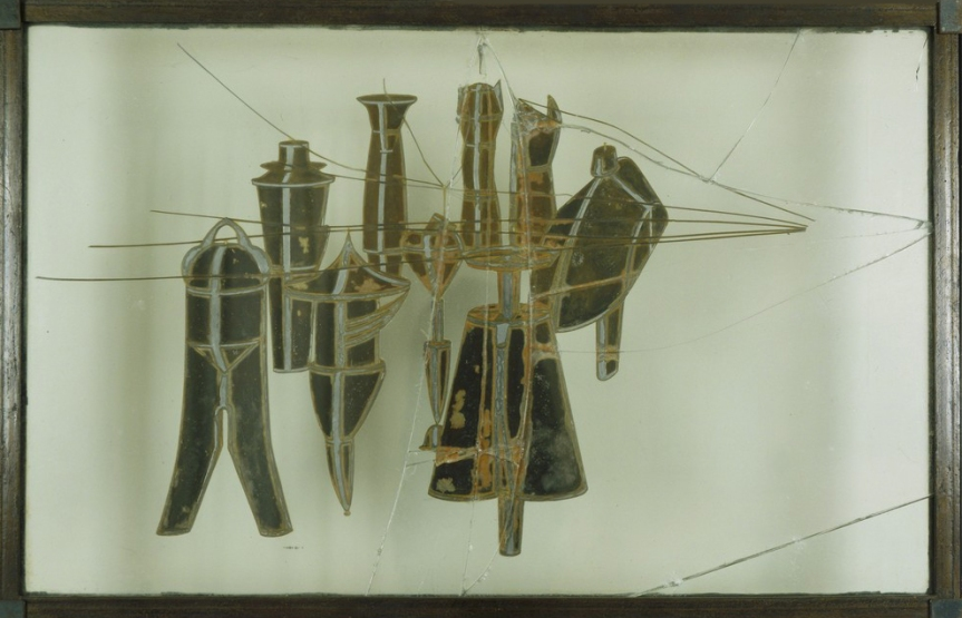 Marcel Duchamp, Neuf Moules Mâlic (Nine Malic Moulds), 1914-1915
