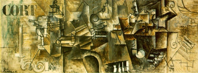 Pablo Picasso, Still Life with Piano, 1911