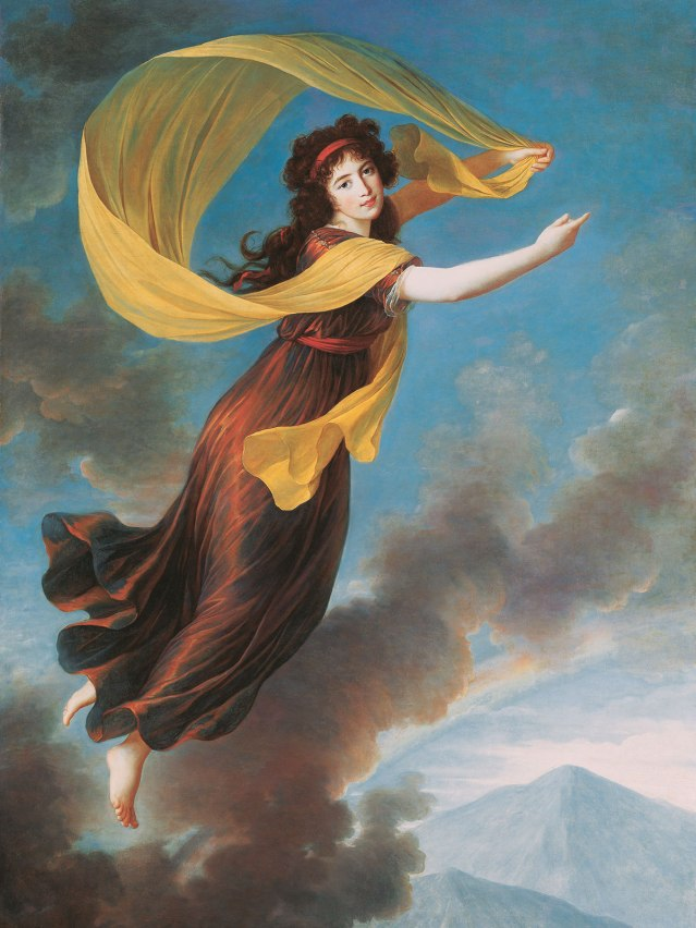 Elisabeth Vigée-Lebrun, Portrait of Princess Karoline of Liechtenstein as Iris, 1793