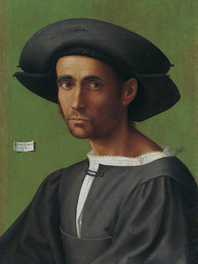 Francesco di Cristofano, gen. Franciabigio, Portrait of a man, 1517