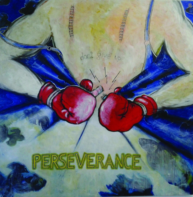 Alejandro Arrechea, Perseverance, 59x59