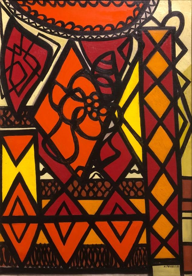 Amelia Peláez (1896 - 1968) Naturaleza Muerta, 1955, Oil on canvas