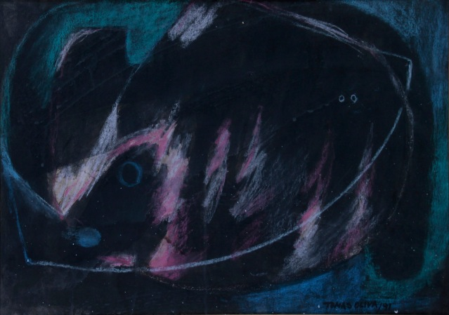 "Oliva, Tomas. Untitled. 1991. Pastel on paper. 12"" x 18"". $1,500.00"