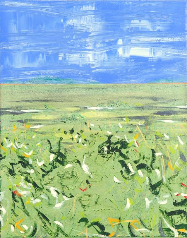 Alvaro Labañino, It's Quiet Consolation #3, 2018, Oil on canvas, 28 x 22
