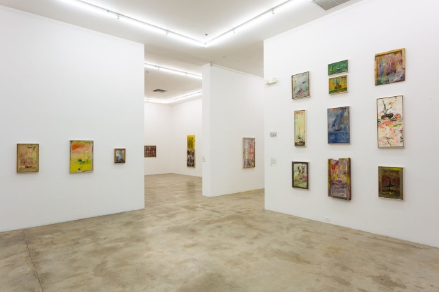 Purvis Young, exhibition at Rubell