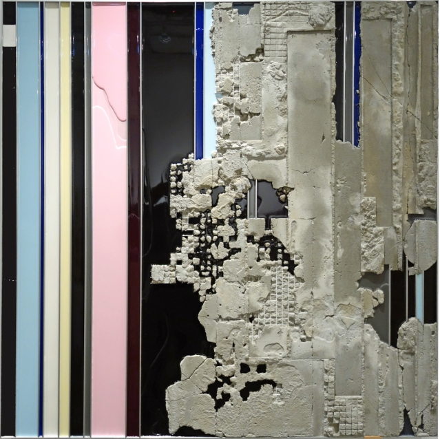 """Troy Simmons, Untitled-C2, 2014,48 X 48 X 3"""""""